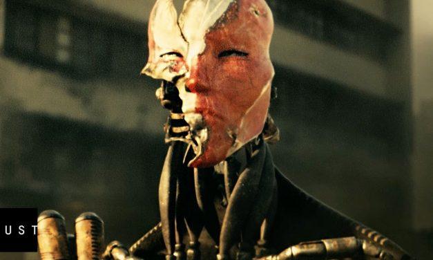 """Singularity"" Machines vs Human Short Film by DUST"