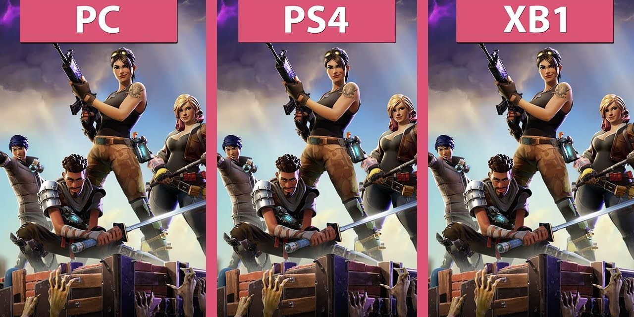 Fortnite Fraame Test Fortnite Pc Vs Ps4 Vs Xbox One Frame Rate Test Graphics Comparison Early Access Deep Sense Media