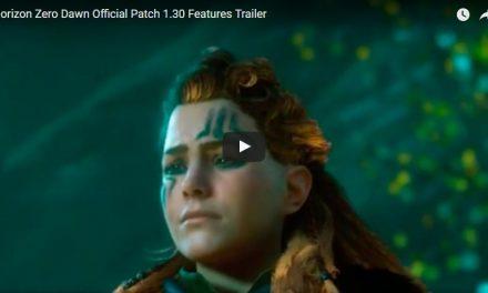Horizon Zero Dawn Official Patch 1.30 Features Trailer