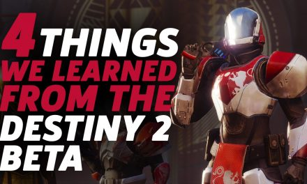 4 Things We Learned From Playing The Destiny 2 Beta