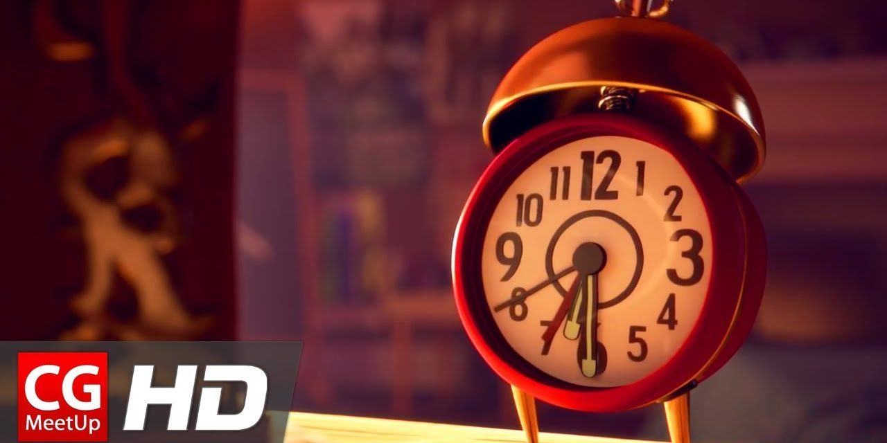 "CGI 3D Animated Short Film: ""Clocky Short Film"" by ESMA"