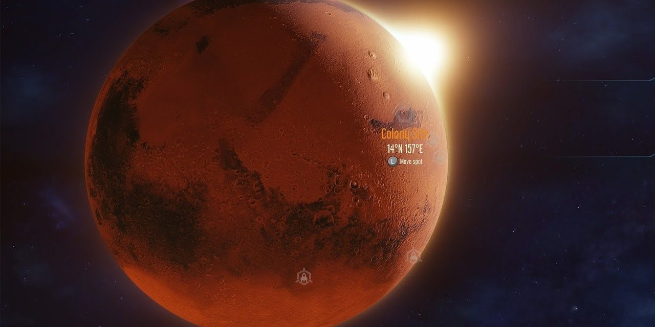 15 Minutes of Surviving Mars Xbox One X Gameplay (4K)